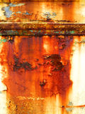 铁锈,美丽的铁锈 库存图片