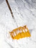 铁锹雪 免版税库存照片