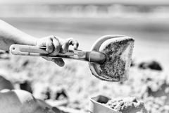 铁锹 图库摄影
