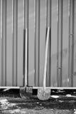 铁锹 免版税库存照片