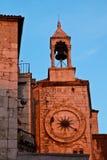 铁门在已分解的Diocletian宫殿 库存照片