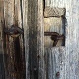 铁门窗等之搭扣 免版税库存图片