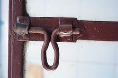铁门窗等之搭扣 库存照片