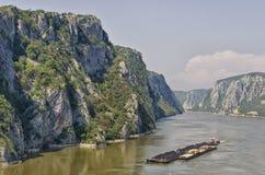 铁门- Djerdap,塞尔维亚 免版税库存图片