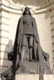 铁骑士雕象 免版税库存图片