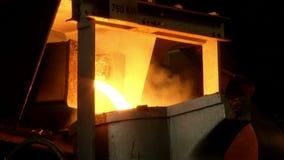 铁,钢熔炼 影视素材