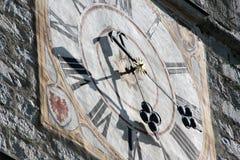 铁琴时钟在慕尼黑,巴伐利亚,德国 库存照片