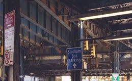 铁结构 库存照片