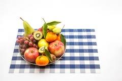 铁水果篮 免版税图库摄影