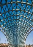 铁建筑在城市 免版税库存图片