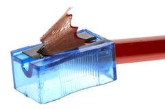 铅笔刀 免版税库存照片