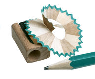 铅笔刀 免版税库存图片