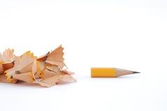 铅笔工作 库存图片