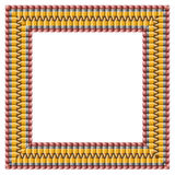 铅笔框架 免版税图库摄影