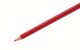 铅笔红色 库存照片