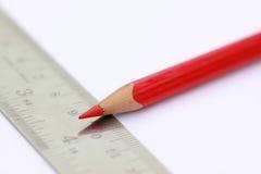 铅笔缩放比例 库存图片