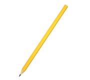 铅笔黄色 库存照片