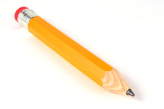 铅笔黄色 库存图片
