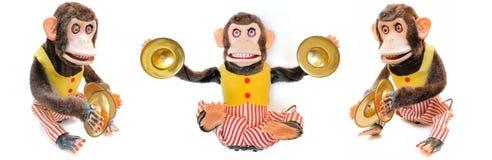 铙钹猴子 免版税库存图片