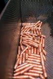 铜和盖帽技巧 免版税图库摄影