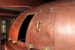 铜大桶 库存照片