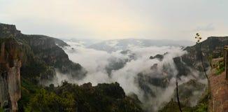 铜峡谷在北墨西哥 库存图片