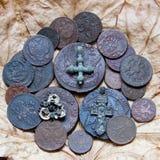 铜币 免版税库存图片