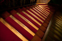 黄铜梯板 库存照片