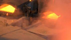 铜熔炼工作 股票视频
