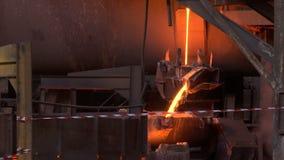 铜熔铸的工厂 股票视频