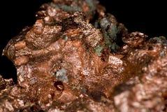 铜矿块 免版税库存图片