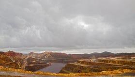 里约Tinto矿 免版税图库摄影