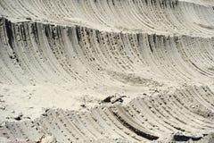 铜矿露天开采矿挖掘特写镜头  库存照片