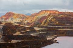 里约Tinto矿 免版税库存图片