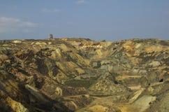 铜矿 免版税库存图片
