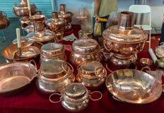 铜罐 库存图片