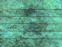 铜被氧化的纹理 库存照片