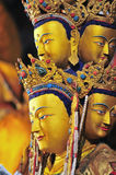 铜被雕刻的图象 库存图片