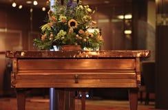 铜钢琴 免版税库存照片