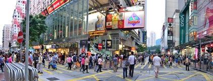 铜锣湾,香港 库存照片