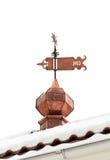 黄铜风标1977年 免版税库存图片