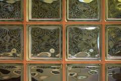 铜玻璃瓦片的背景样式 库存照片