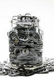 铝为捐赠 免版税图库摄影