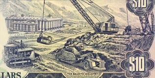 铝土矿行业 图库摄影