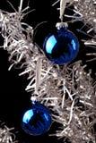 铝圣诞树 库存图片