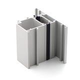 铝外形辅助部件 免版税图库摄影