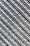 铝导线的纹理 免版税库存照片