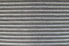 铝导线的纹理 免版税库存图片