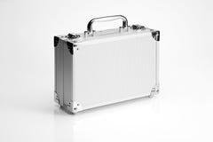 铝手提箱 免版税图库摄影
