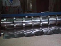 铝板料和铝切割机 工厂 股票视频